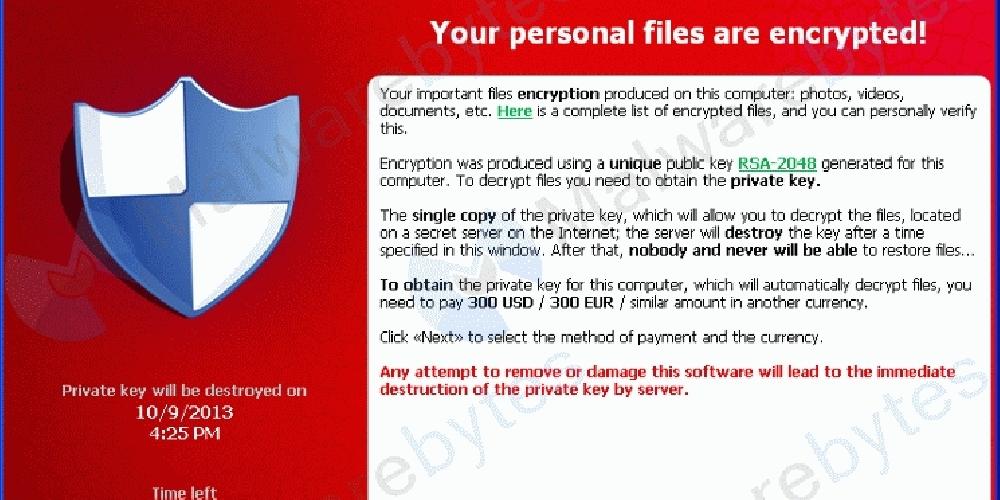 ATENCIÓN: INFECCIONES MASIVAS DE CRYPTOLOCKER CON E-MAILS DE UN FALSO 'CORREOS'
